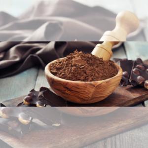 Chocolates e Alfarrobas